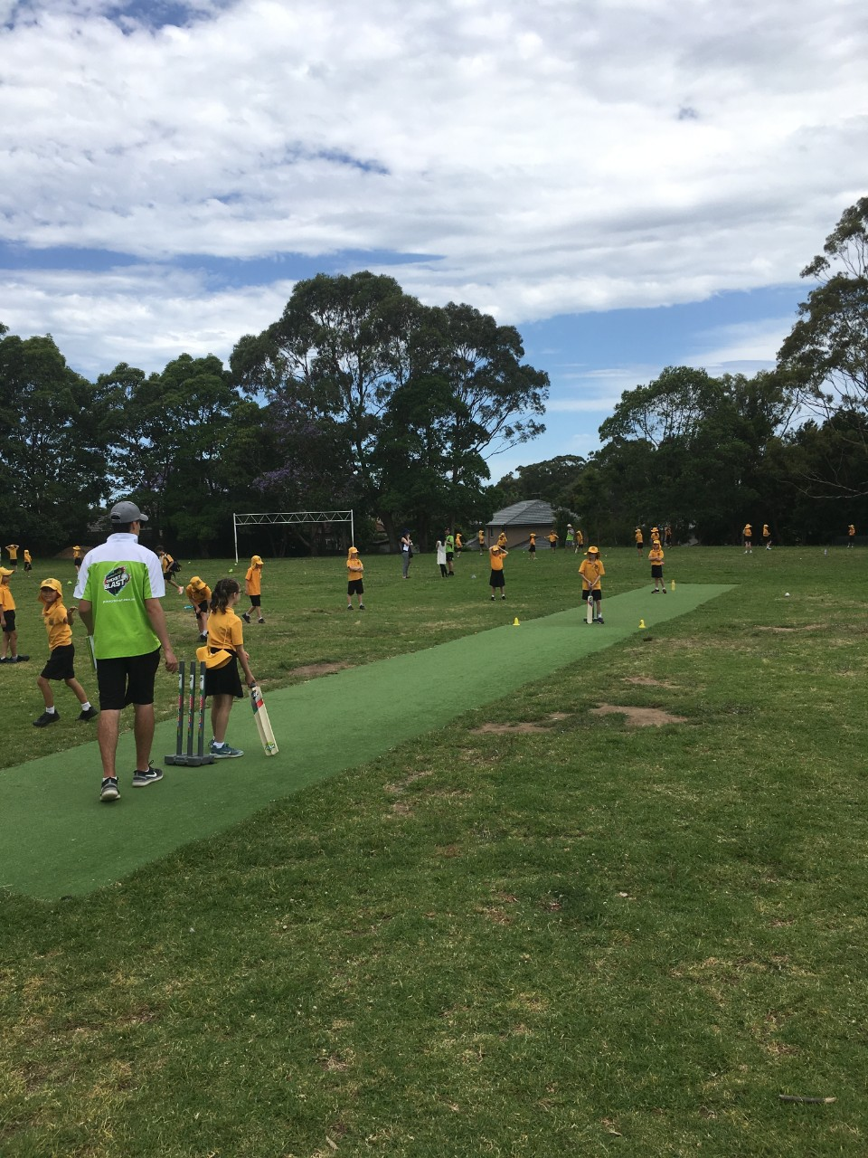 Cricket Gala Day news report